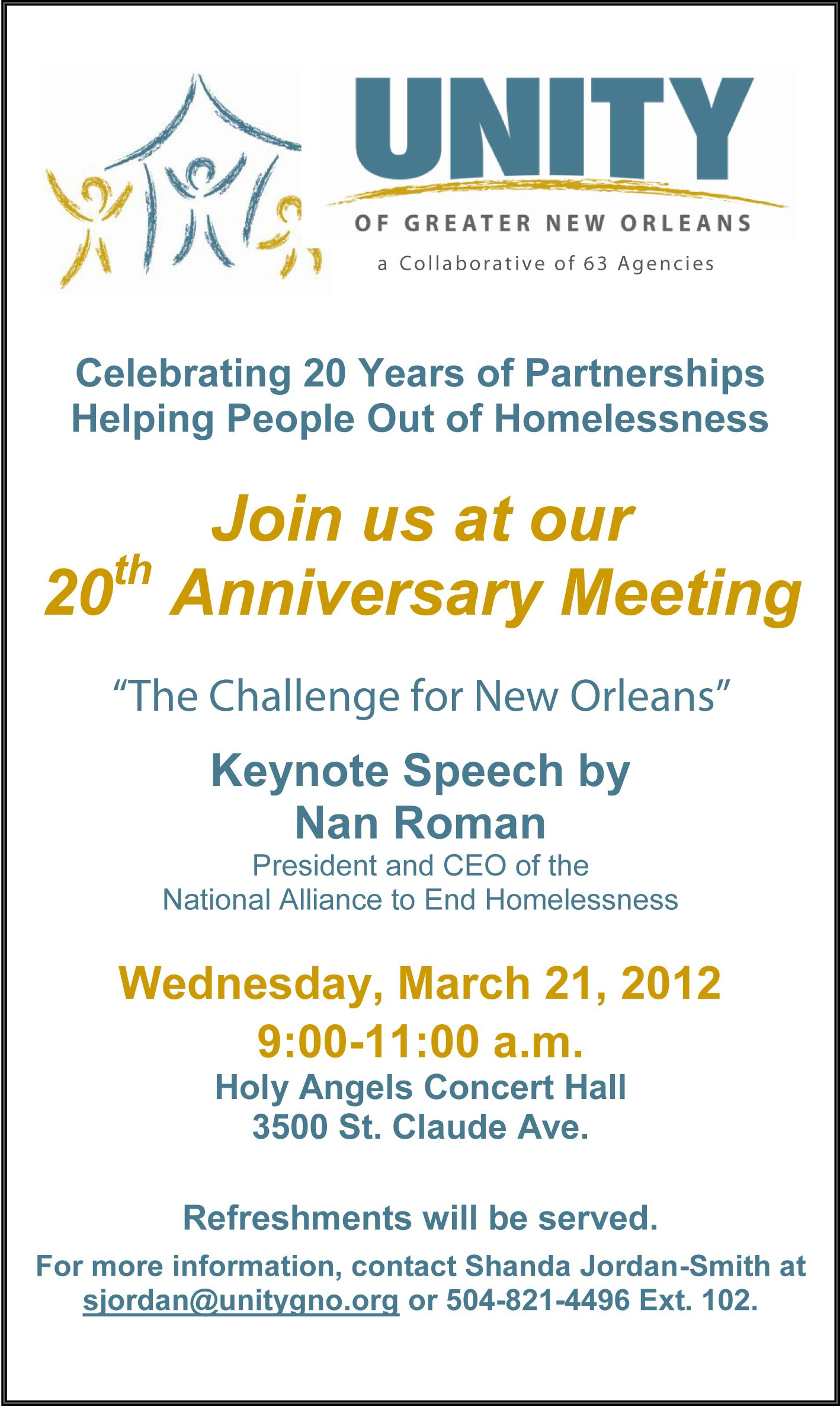 2012 Annual Meeting Invitation