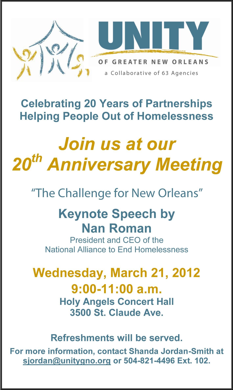 2012 Annual Meeting Invitation