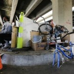 55 homeless moved from under the Pontchartrain Expressway to shelters