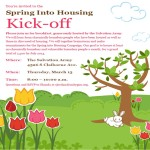 Join us for our Spring Into Housing Campaign Kick-off Breakfast!