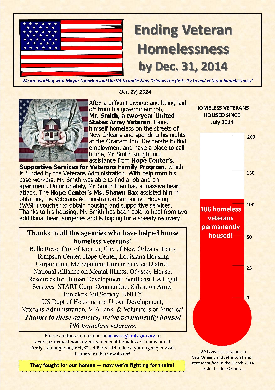 Veteran Newsletter 10.27.2014