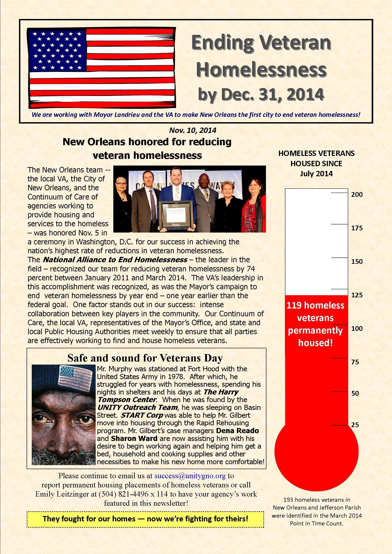 Veteran Newsletter 11.10.2014