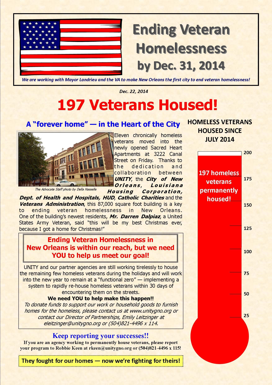 Veteran Newsletter 12.22.2014