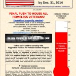 Ending Veteran Homelessness Weekly Newsletter -- Dec. 10, 2014