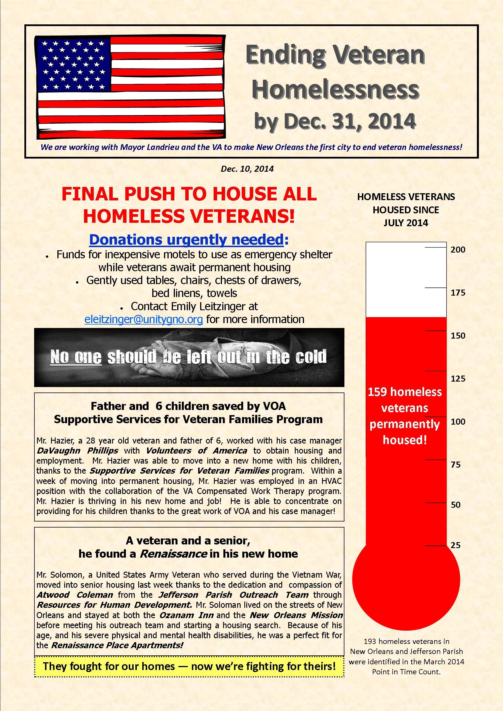 Veteran Newsletter 12.9.2014