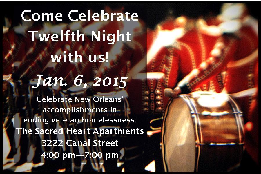 Twelfth Night Party Invite