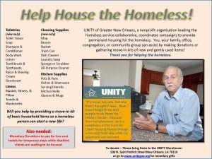 Help House the Homeless!