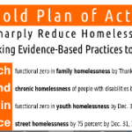 A Bold Plan of Action to Sharply Reduce Homelessness by Taking Evidence-Based Practices to Scale